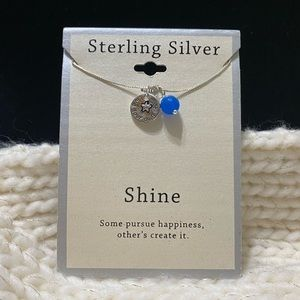 "NWT Sterling Silver "" Shine"" Necklace ✨❤️"